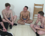 Spanking Game - Karl, Fraser & Jay - Round Two
